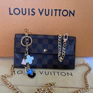 Louis Vuitton Wallet brown Damier